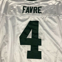 Reebok Green Bay Packers Brett Favre 4 Jersey NFL stitched white Size 52
