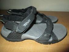 Women's TEVA NUMA Water Sport Strap Sandals Shoes 1003955 SIZE 5 US 36 EU Black