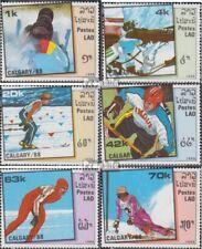 Laos 1060-1065 (complète edition) neuf avec gomme originale 1988 olympe. Jeux d