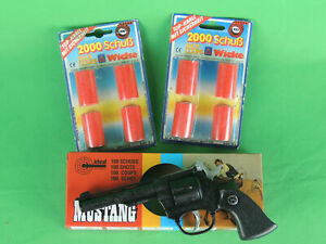 Pistole Waffe Fasching Karneval Western Revolver Colt Kinderpistole 4000 Schuß