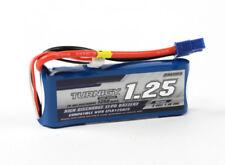 Turnigy 1250mAh 2S 7.4V 20C 40C Lipo Battery w/EC3 (E-Flite Suits EFLB12502S)