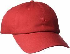 DOCKERS Men s Core Tonal Embroidered Logo Dad Baseball Hat Red One Size 20437ad7add8
