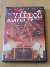 WWE The Videos Volume 1 Ramped Up DVD 2002 Music Songs WWF WCW NWO ECW