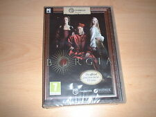 BORGIA OFFICIAL GAME FROM TV SERIES ~ PC GAME NEW SEALED