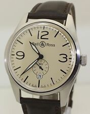 Stainless Steel Bell & Ross BR123-95-SS BR 123-95-SS - Automatic Aviation