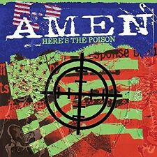 Here's The Poison 5036436104222 by Amen CD