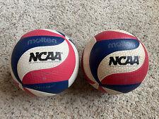 Lot Of 2 Molten NCAA Flistatech Volleyballs