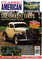 CLASSIC AMERICAN CARS Magazine. #49 May 1995 - '36 Plymouth Coupe, Corvair Wagon