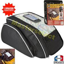 Sacoche De Moto Magnétique Pour Reservoir 21L Sac Bag Aimanté Magnétique Carte
