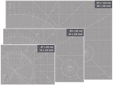 Schneidunterlage 90 x 60 cm 26x24 inch Schneidematte Rollschneider Schneidmatte