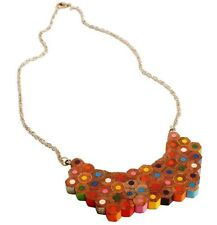 Recycled Pencil Crayon Statement Piece Necklace Choker Handmade Eco Jewellery