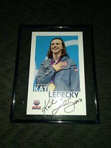 Olypmpic Gold Medalist Katie Ledecky USA Swimming America's Swim Team poster