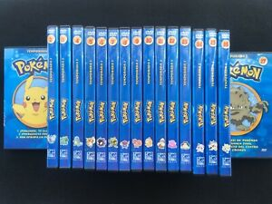 Pokemon Temporada 1 Completa En Dvd  - Pal España - SALVAT - Todos Los 17 DVDS