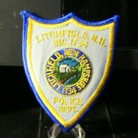Patch Retired: Litchfield New Hampshire Police Patch