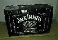 Cofanetto Mini Jack Daniel's Set Da 10 Bottigliette da Collezione Mignon Plastic
