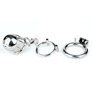 """New Arrival 316 Stainless Steel Male PA Chastity Device Kidding Zone """"Bridge""""-01"""