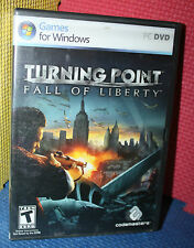 Turning Point Fall of Liberty 2 PC DVD-Rom with Box and Manual