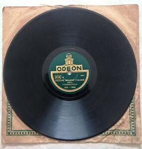 Disco 78 giri Odeon - Vecchie melodie italiane / Bolero d'amore - fisarmonica