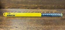 """DEWALT DW5759 Rock Carbide Drill Bit, 1 1/8"""" x 1"""" x 22"""", New"""