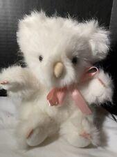 """Vintage San Diego Zoo Albino Koala Plush 10"""" Bear Fluffy White Collectible"""