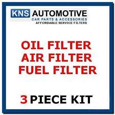 Ford Fusion 1.6 TDCI Diesel 06-11 Aire, Combustible & Kit De Servicio De Filtro De Aceite F33b