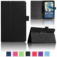 Smart Leather Case Cover Stand For Amazon Kindle Fire 7 HD 8 2017 7th Gen New