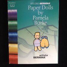 Paper Dolls Embroidery Designs Card for Bernina Artista 165 170 180 200 Deco