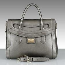 SOLDES belucia NUORO Bag Sac à main Doux veau gris-argent métallisé € 849