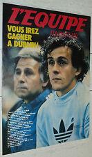 EQUIPE MAGAZINE N°82 1981 MADISON SQUARE GARDEN FOOTBALL BLEUS EIRE BEAUCHENE