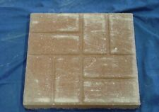 Square 16in Brick Design Paver Concrete Stepping Stone Mold 2009 Moldcreations