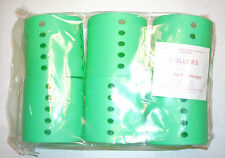 """Magnetic Hair Roller Morris Flamingo D3019  6ct 3""""x 3"""" Green ( 4 PACKS )"""
