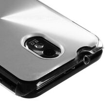 SAMSUNG EPIC TOUCH 4G GALAXY S2 4G BOOST D710 BRUSHED ALUMINUM CASE SILVER
