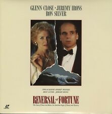 REVERSAL OF FORTUNE CC CLV LASERDISC Glenn Close, Jeremy Irons, Ron Silver