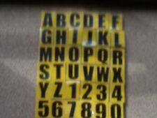7 AUTO ADHESIVO/PEGAR EN VINILO Número De Matrícula números/letras Off Road