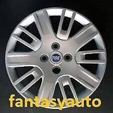 Fiat Doblo Dal 2005 > Set 4 Borchie Coppe ruota Copponi Copri Cerchi 15 L/B