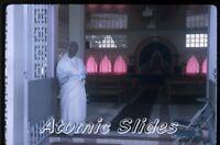 1966 kodachrome photo slide   Port of Spain Trinidad Hindu Temple #2