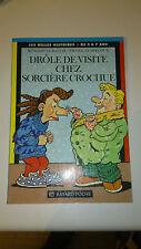 Drôle de visite chez sorcière Crochue - Nicole Claveloux
