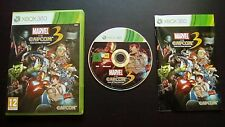 MARVEL vs. CAPCOM 3 Fate of Two Worlds : JEU Microsoft XBOX 360 (COMPLET suivi)