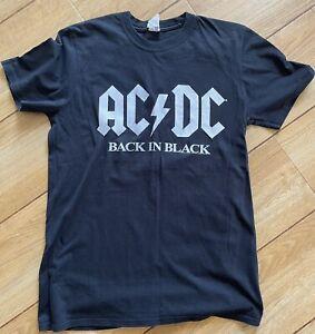 AC/DC 2016 Tour T Shirt In Medium Used