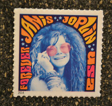 2014USA #4916 Forever - Janis Joplin   Single Stamp-  Mint NH   music icon
