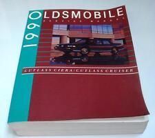 OLDSMOBILE CUTLASS CIERA & CUTLASS CRUISER - Car Service Manual - 1990
