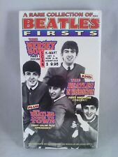 A Rare Collection of Beatles Firsts The Mersey Sound Music VHS Tape NEW. Sealed