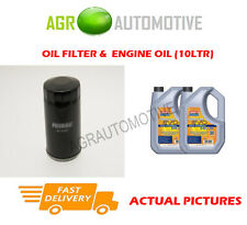 PETROL OIL FILTER + LL 5W30 OIL FOR VOLKSWAGEN CARAVELLE 2.0 84 BHP 1990-03