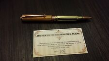 Bundy 308 Bullet Pen made with wood from Bundaberg Vat   xmas  Christmas