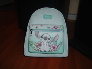 LOUNGEFLY DISNEY STITCH HIBISCUS MINI BACKPACK~ WITH TAGS~BRAND NEW~