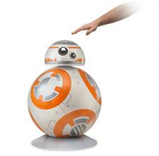 Life-Size Star Wars BB-8 Aluminum Floor Lamp LED Light Modes Force Awakens Prop