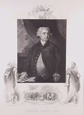 """Charles James Fox"" engraving after Hoppner by Cook for J & F Tallis ca 19th c."