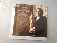 RUGGIERO RICCI  Vivaldi 12 Violin Sonatas Op. 2  LP  **Rare!