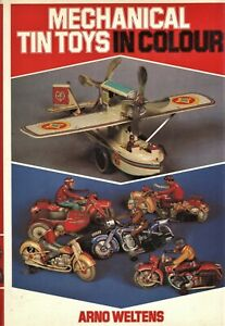 Mechanical Tin Toys - History Types Makers Trademarks / Scarce Book