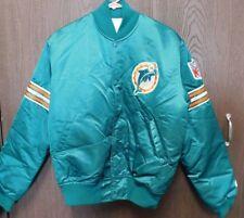Miami Dolphins Vintage Original Licensed Starter Nylon Jacket Size Medium RARE